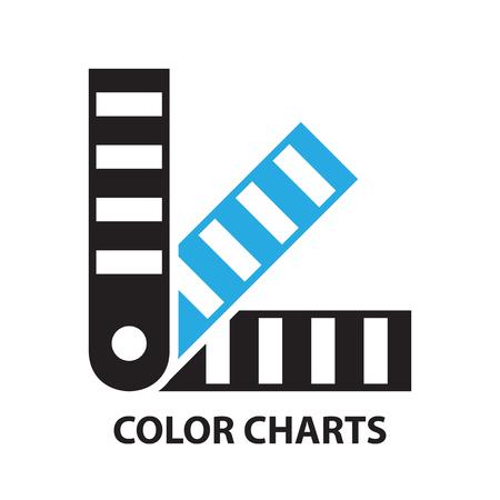 color guide: color chartsm,Color palette guide,icon and symbol