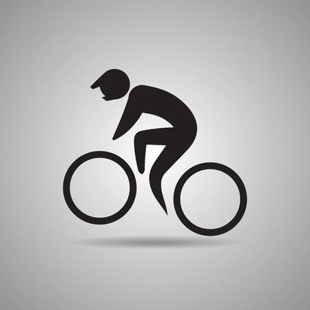 symbol sport: Extreme Bike Stunt Sportikone und Symbol