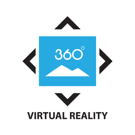 reality: virtual reality ,icon and symbol