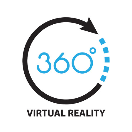 video: virtual reality ,icon and symbol