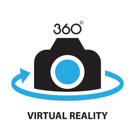 virtual reality ,icon and symbol