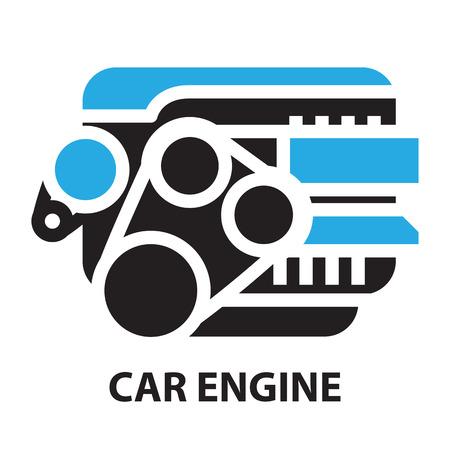 Car Engine ,icon and symbol 일러스트
