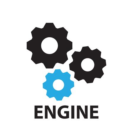 gear Engine ,icon and symbol Ilustração
