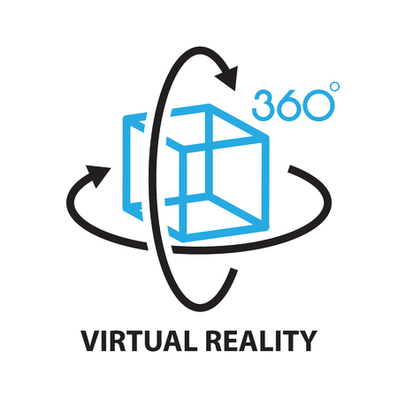 virtual reality ,icon and symbol Reklamní fotografie - 59847920