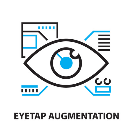 augmentation: Eyetap augmentation Icon, and symbol