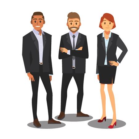 hombres de negocios de consultoría