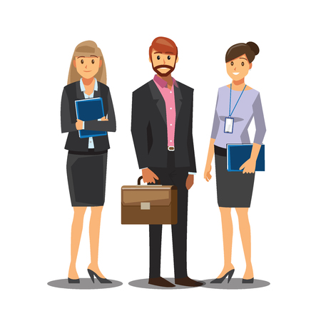 workmate: Businessmen consulting