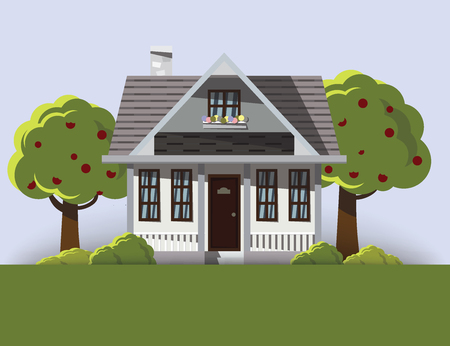 Background image of dream house