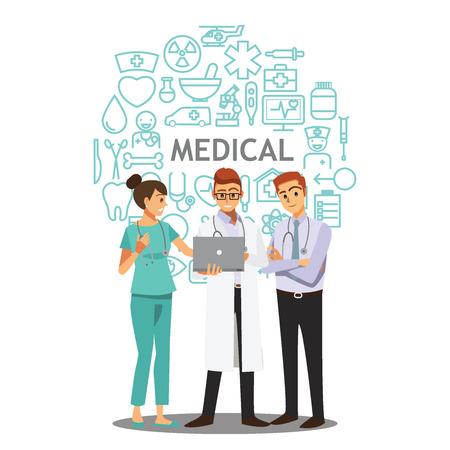 syring: medical doctors team meeting