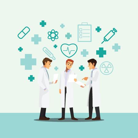 medical doctors: medical doctors team meeting