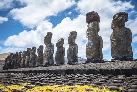 Rapa Nui Moai Statues Easter Island Chile