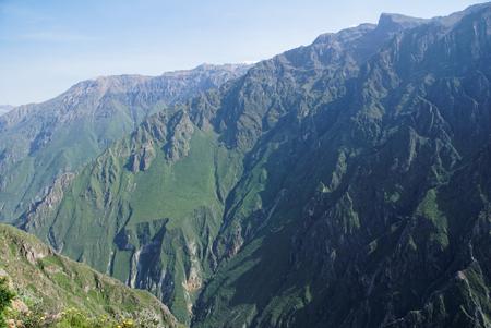 Colca Canyon in Arequipa Region Hiking Peru