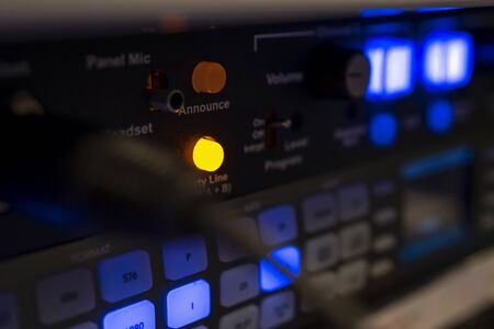 Close up Video signal scaler from Blackmagic Teranex Reklamní fotografie