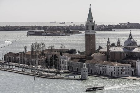 Panoramic view of Venice Italy from St Marks Campanile Reklamní fotografie