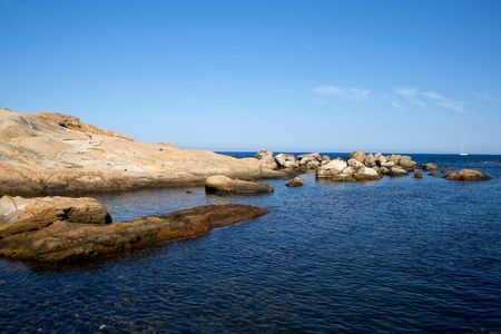 Sea of Giglio island - Campese photo