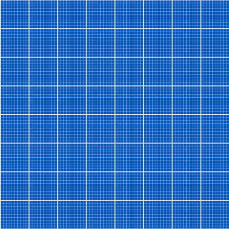 Grid seamless pattern. Blueprint technical grid background. vector illustration.