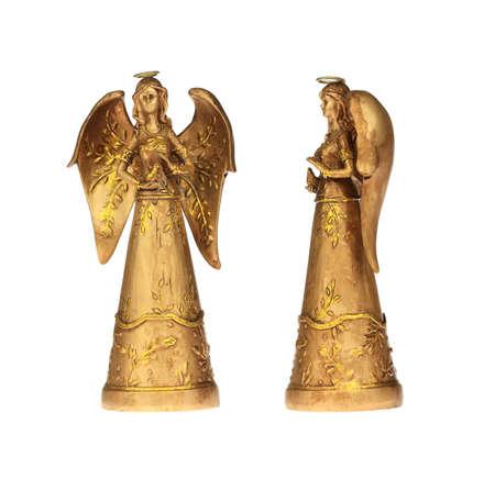 figurines: Golden Angels