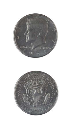 two and a half: Two Half Dollar Coins
