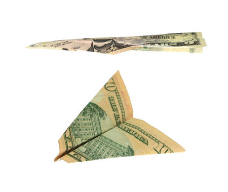 Money Paper Airplanes Stock Photo - 3842854