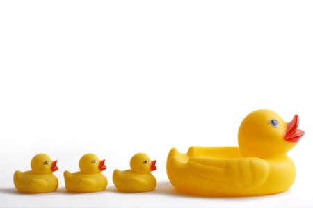Canards jaunes en plastique en ligne