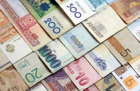 Close-up shot of various banknotes Stock Photo - 9385756