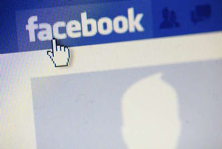dislike: Bucharest, Romania - March 1, 2011: Facebook site start page.