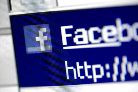 Bucharest, Romania - March 27, 2011: Close-up monitor shot of the Facebook site start page. Stock Photo - 10005945