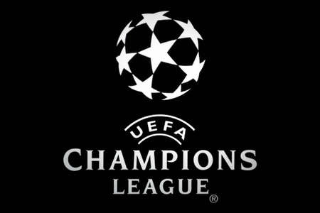 Bucharest, Romania - October 4, 2011: Close-up shot of a luminous ad for the UEFA Champions League. The UEFA Champions League is an annual international club football competition organized by the Union of European Football Associations (UEFA) since 1955 f Redakční