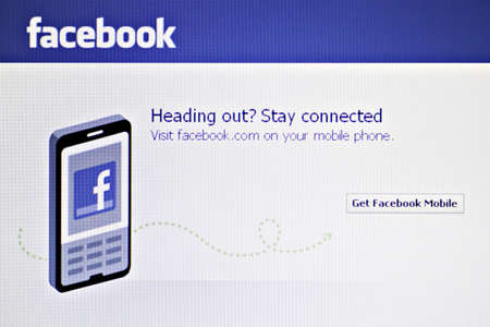 Bucharest, Romania - January 10, 2012: Facebook main page is displayed on a computer monitor. Facebook is a social networking service and website launched in February 2004, operated and privately owned by Facebook, Inc. Stock Photo - 11887636