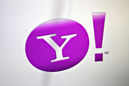 Bucharest, Romania - January 10, 2012: Shot of the Yahoo! logo on a computer screen with shallow depth of field. Yahoo! Inc. is an American multinational internet corporation headquartered in Sunnyvale, California, United States.