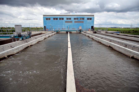 View of some water treatment plant facilities Stock Photo - 13999852