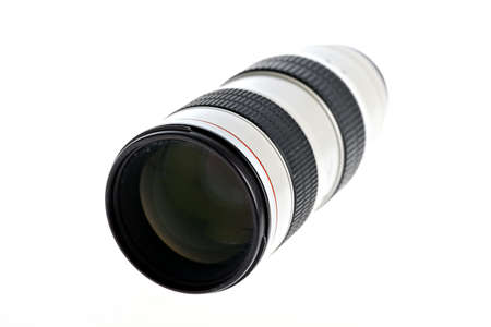 tele: Close up shot of a tele lenses