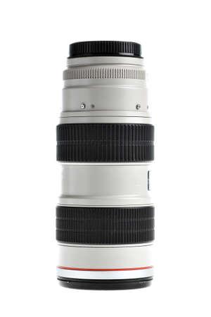 tele up: Close up shot of a tele lenses