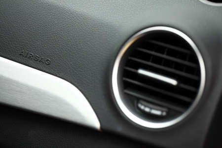 car's interior and air conditioner photo