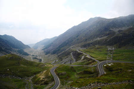 twisty: A twisty road up in the Romanian Carpathian mountains called Transfagarasan
