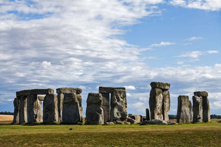 england: Historical monument Stonehenge in England, UK Stock Photo