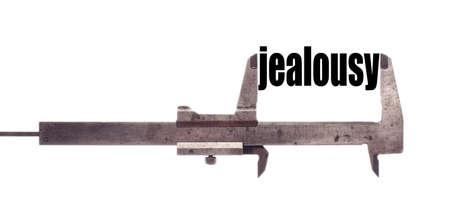 """celos: tiro horizontal de color de una pinza y la medición de la palabra """"celos""""."""