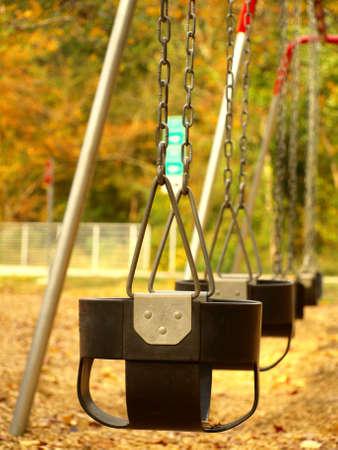 Swings Banco de Imagens