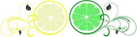 Lemon and Lime Logos