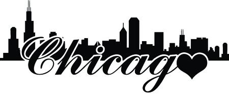 Chicago skyline -Love chicago