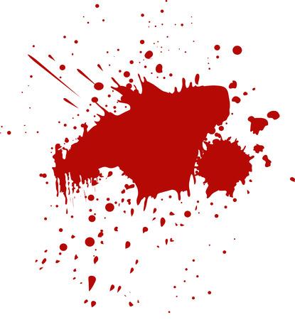 blutspritzer: Blut-Spritzer- Illustration