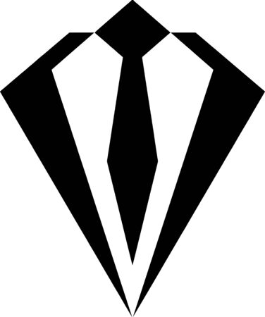 high end: Business Tie icon Illustration