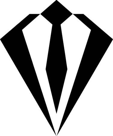 Business Tie icon Illustration