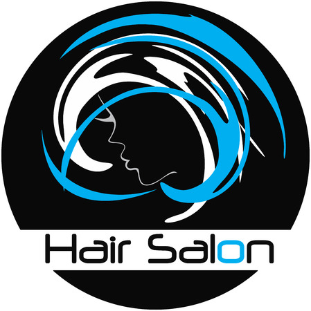 Moderne Friseursalon Logo Standard-Bild - 36311153