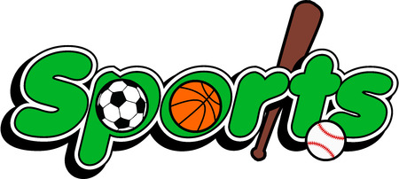Sport logo baseball, basket ball football Banque d'images - 36311935