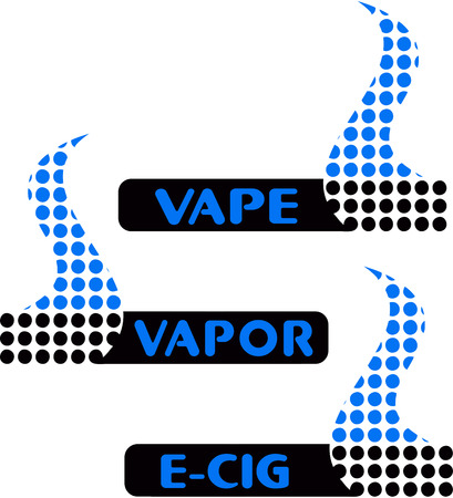 vapor: Vapor Vape Logo Illustration