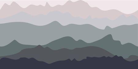 winter range: Mountains View