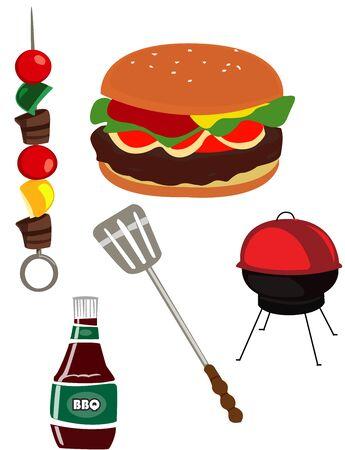Barbecue Иллюстрация