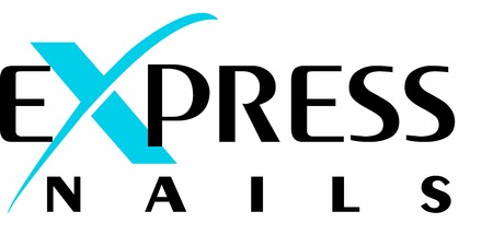 Express Nails Logo Vectores