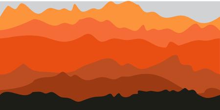 Mountaions Arizona Hintergrund Standard-Bild - 43416270